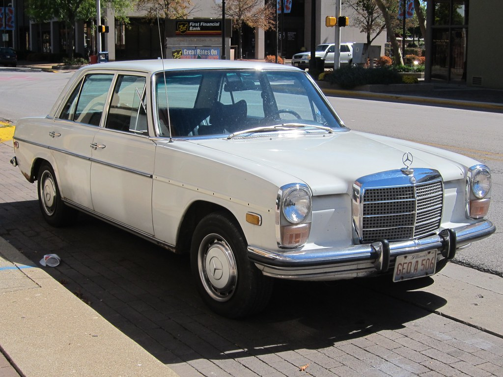 1968-1973 Mercedes-Benz 220 Diesel | W115 goodness. | Jim ...
