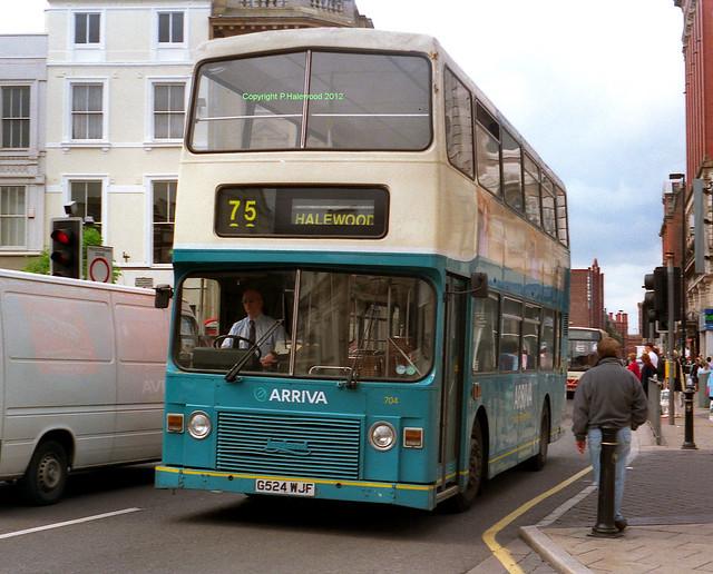 Arriva Merseyside 704 (G524WJF)