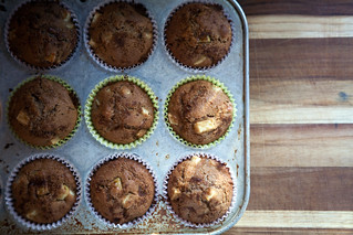 Whole Wheat Apple Cinnamon Muffins | by epiøne