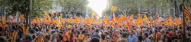 11 de setembre de 2012 a Catalunya