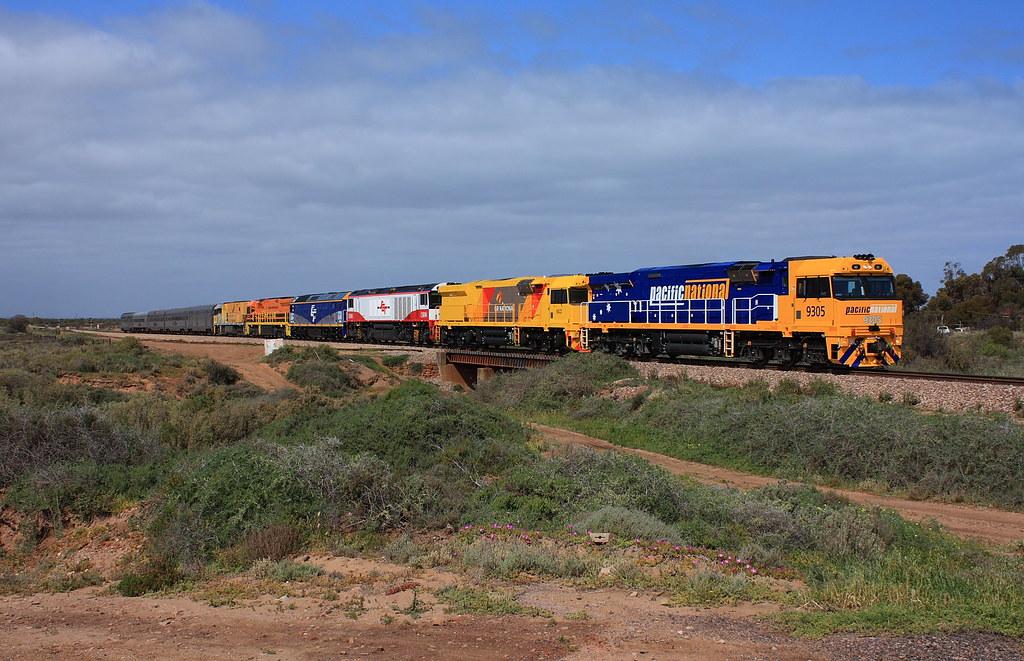 ARA Trans-Australian Railway Centenary Train by Malleeroute