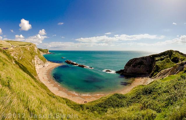 St Oswald's Bay and Man O' War Cove, Dorset
