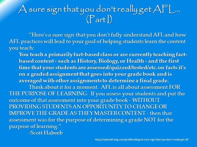 Do you get AfL?