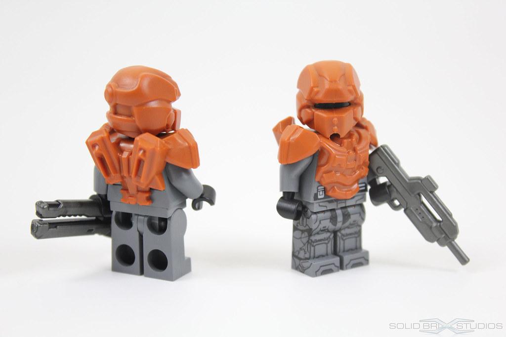 BrickWarriors Prototype Halo 4 Spartan IV Armor | I don't kn