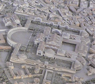 Rome - Baths of Trajan model | by The Classical World