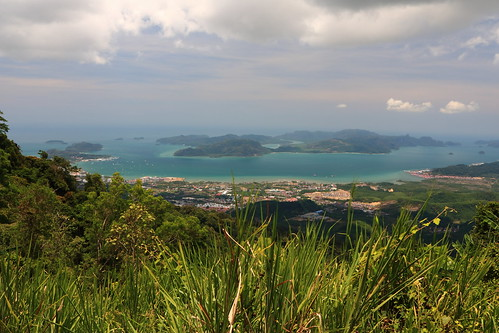 langkawi malaysia gunung raya mountain islands sea andaman landscape