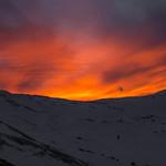 Mountain at Sundown from Arapahoe Basin 2