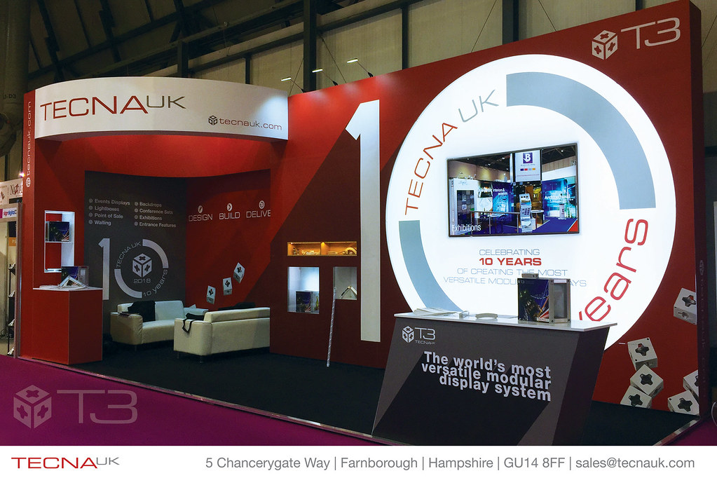 Exhibition Stand In Uk : Tecna uk sduk t modular display system exhibition standu flickr