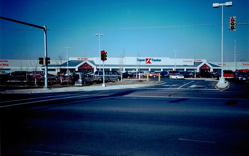 Super Kmart Center, Champaign, Illinois, 1990s | by The Urbana Free Library Digital Collections