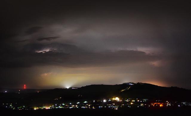 Lightning Over Brading Downs