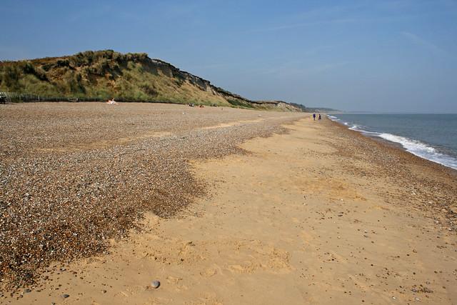 The beach near Dunwich
