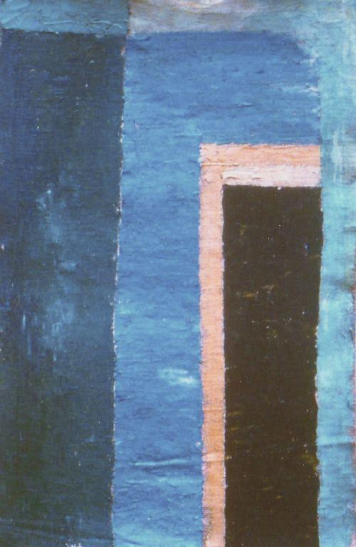 Porta I - Oil on jute 1997