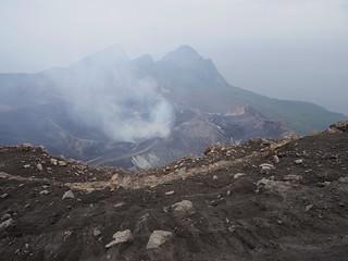 Suwanose island, Mt. Otake (volcano) Sakuchi Crater