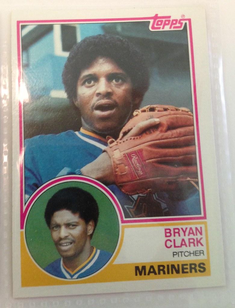 1983 Topps Baseball Card Bryan Clark Steve Aynes Flickr