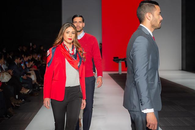 Pasarela Rojo TU-Davivienda
