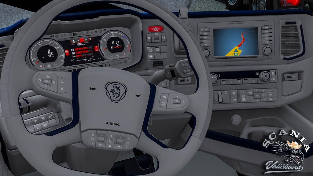 Euro Truck Simulator 2 New Interior SCANIA S NextGen | Flickr
