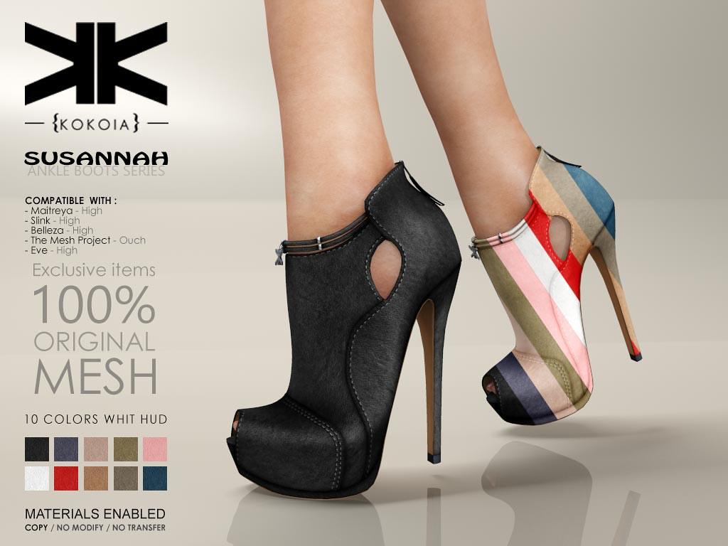Susannah :: Ankle Boots :: 10 Colors | Purchase | Shop in Se