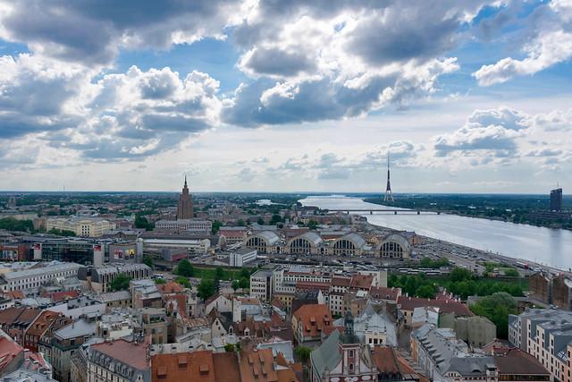 The beautiful Riga