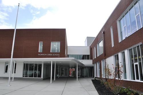 40th Avenue NE Elevation/Main Entrance, Thornton Creek Elementary School, Seattle Public Schools   by JoeInSouthernCA