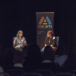 Ann M Martin in conversation with Patrice Lawrence | © Phil Wilkinson