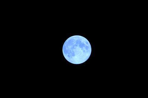 Full Moon (Blue Moon) | by Hyougushi