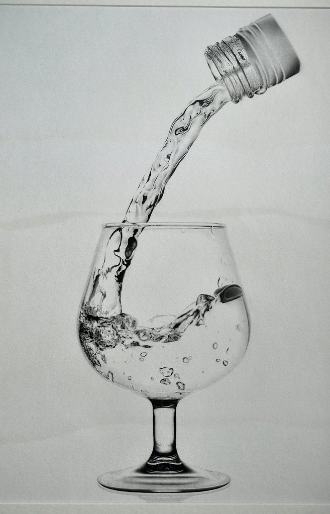 pencil drawing of wine glass | gemc5000 | Flickr