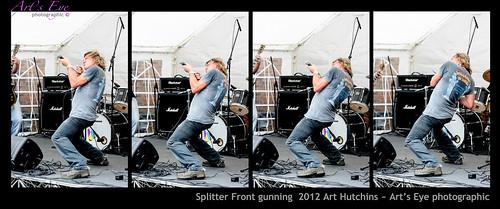 Splitter Front gunning