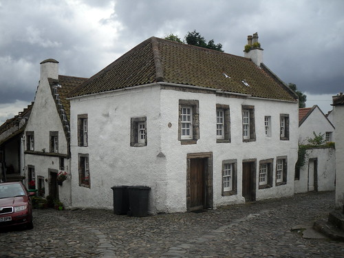 house in square, Culross
