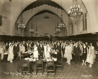 The first dinner party in Frary in 1929