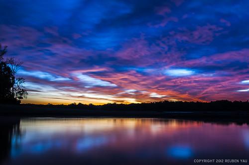 Hoover Reservoir at Dawn | by Reuben Yau