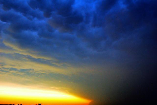 061911 -  Nebraska Supercell Sunset