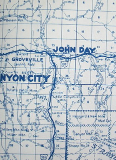 Grant County OR 1952