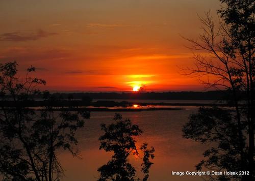 sunset ontario river ottawa rockland endofsummer cloudsstormssunsetssunrises