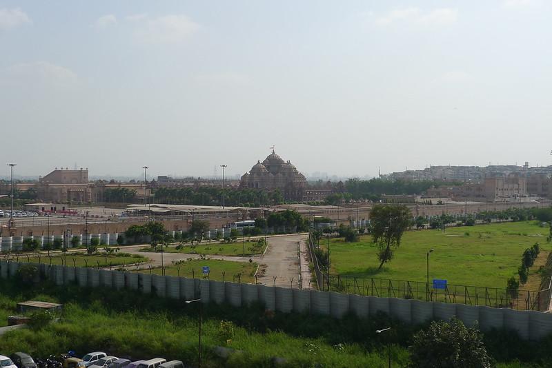Akshardham temple from afar