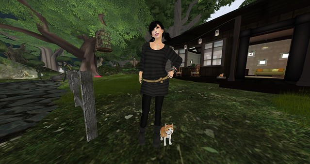 Hanging out with virtual Pixelkitteh!