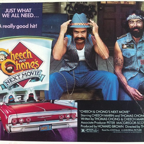 Cheech and Chong's Next Movie poster #3 #marijuana #movies #hollywood #1980 | by Cannabis Culture