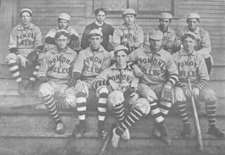 The 1899-1900 baseball team
