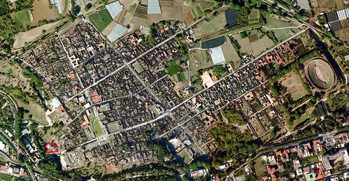 Pompeii - Suburban Baths aerial | by The Classical World