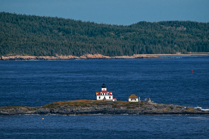 Egg Rock Light House (Bar Harbor, Maine)