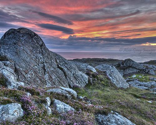 sunset scotland scottishlandscape northwestscotland