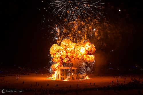 The Man burns Saturday night at Burning Man 2012 | by mr. nightshade