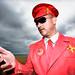 Captain Scarlet brighton pride 2012 by http://heatherbuckley.co.uk