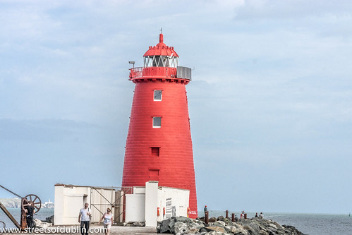 Poolbeg Lighthouse in Dublin Bay was built in 1768 | by infomatique
