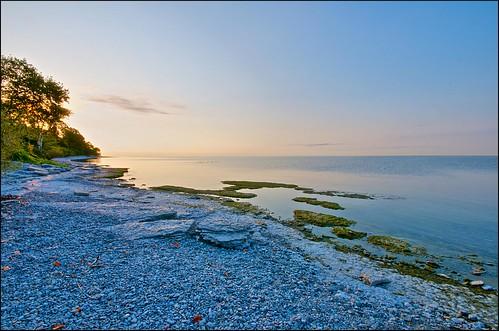 ontario sunrise lakeshore lakeontario hdr cobourg