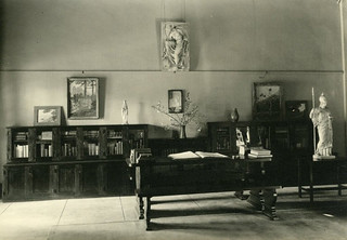 Westergaard Memorial Art Room in Carnegie Library in 1938