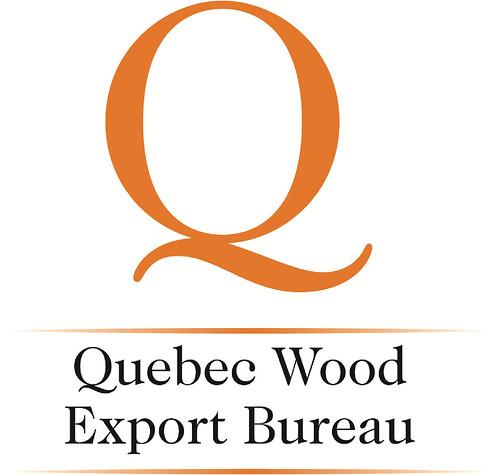 Quebec wood logo