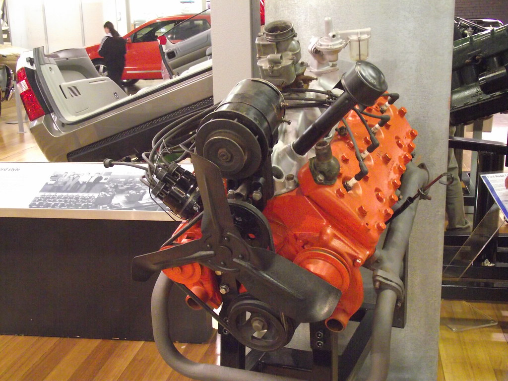 1950 Ford Flathead V8 Engine | This is the 1950 Ford Flathea