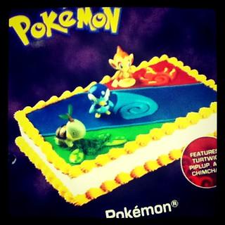 Awesome Pokemon Birthday Cake You Can Custom Order At Price Choppe Flickr Funny Birthday Cards Online Elaedamsfinfo