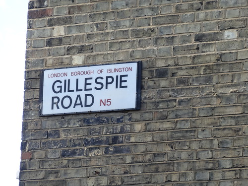 046 - Gillespie Road Sign | by Randomly London