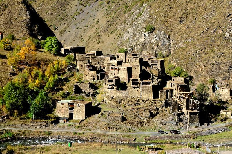 Shatili – Pueblo fortaleza medieval en Georgia 1